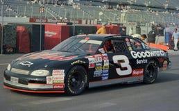 Legenda Dale Earnhardt de NASCAR imagens de stock royalty free
