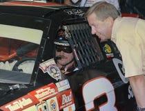 Legenda Dale Earnhardt de NASCAR fotos de stock royalty free