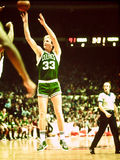 Legenda dei Celtics di Larry Bird Boston Fotografia Stock Libera da Diritti