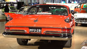 Legendarisch Chrysler Nieuwpoort 1961 stock footage
