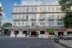 Legendarisch Continentaal Hotel, Saigon royalty-vrije stock afbeelding