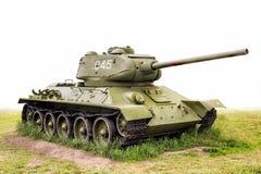 Legendarische (85) Tank t-34 de USSR Stock Fotografie