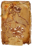 Legendarische dieren en monsters: MINOTAUR Royalty-vrije Stock Afbeeldingen