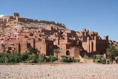 Legendarische stad AIT Benhaddou Stock Afbeelding