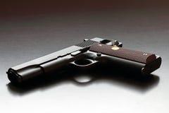 Legendarisk kaliberhandeldvapen för US .45. Arkivfoton
