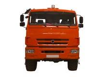 Legendarisk lastbil KAMAZ för isolering Royaltyfri Bild