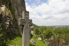 Legendarisk slott, Dracula uppehåll i Transylvania, Rumänien Arkivbilder