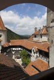 Legendarisk slott, Dracula uppehåll i Transylvania, Rumänien Royaltyfria Bilder