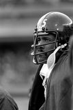 Legendariskt defensivt slut Joe Greene för Pittsburgh Steelers arkivfoto