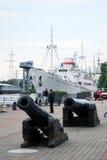 Legendariskt skepp Vityaz. royaltyfri fotografi