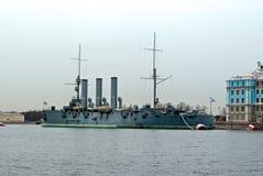 Legendarna krążownik zorza. Zdjęcie Royalty Free