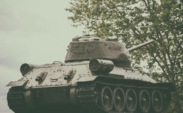 Legendarny zbiornik T-34 Obrazy Royalty Free