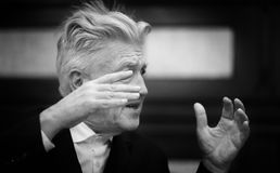 Legendary American film director and actor David Lynch Stock Photography