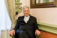 Legendary American film director and actor David Lynch Royalty Free Stock Photo
