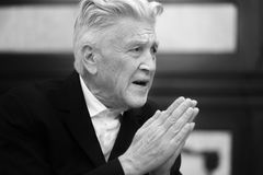 Legendary American film director and actor David Lynch Royalty Free Stock Images
