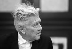 Legendary American film director and actor David Lynch Stock Photo