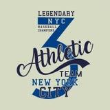 Legendary baseball champions athletic Stock Images