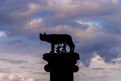 Capitoline Wolf symbol of Rome Stock Photos