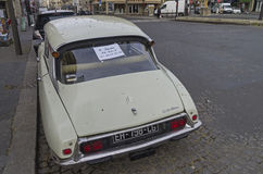 The legendary car Citroën DS Stock Image