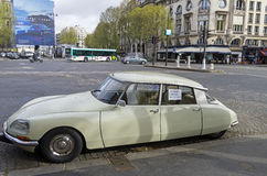 The legendary car Citroën DS Royalty Free Stock Photography