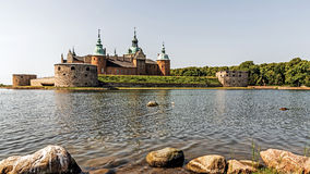 The legendary castle in Kalmar, Sweden Stock Photos