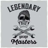 Legendary Garage Masters Poster Stock Images