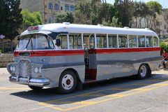 Legendary and iconic Malta public buses Stock Photography
