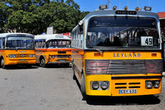 Legendary and iconic Malta public buses Royalty Free Stock Photography