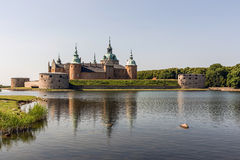 The legendary Kalmar castle Royalty Free Stock Photos