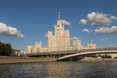 The legendary Moscow skyscrapers Stock Photography