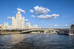 The legendary Moscow skyscrapers Royalty Free Stock Photo