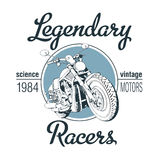 Legendary Racers Poster Royalty Free Stock Photo