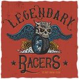 Legendary Racers Poster Stock Photo