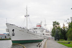 Legendary ship Vityaz. Royalty Free Stock Photography