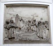 Legende van Charlemagne stock fotografie