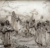 Legende van Charlemagne royalty-vrije stock foto