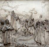 Legende van Charlemagne stock foto
