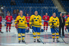 Legends of Hockey Sweden Royalty Free Stock Images
