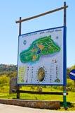 legendy mapa Zdjęcie Royalty Free