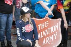Leger des Heilsvrijwilligers Royalty-vrije Stock Foto