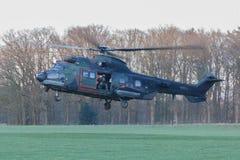 Leger en de oefening van de Luchtmachthelikopter Stock Afbeeldingen
