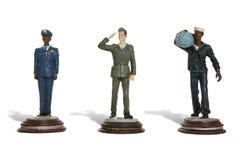 Leger, Marine en Luchtmacht Stock Afbeeldingen