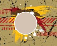 Leger/marine/grunge achtergrond Stock Afbeeldingen