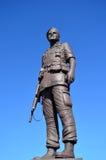 Leger van standbeeld het Algemene Henry Hugh Shelton de V.S. stock fotografie