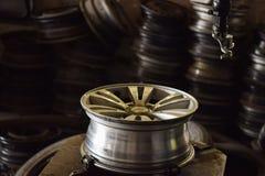 Legeringshjul Royaltyfri Fotografi