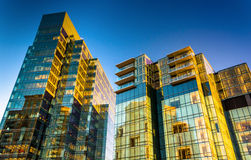 The Legg Mason Building in Harbor East, Baltimore, Maryland. stock image