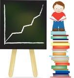 Legga più meglio ed ottenga illustrazione di stock