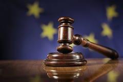 Legge dell'Unione Europea Immagine Stock Libera da Diritti
