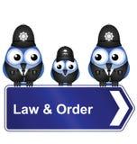 Legge ed ordine Immagine Stock Libera da Diritti