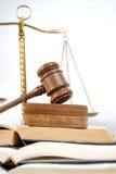 Legge ed ordine Fotografia Stock